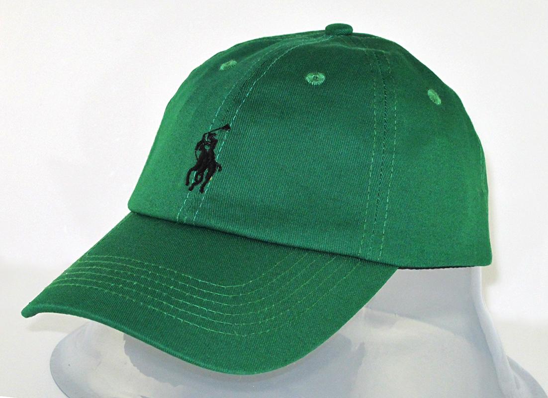 Качественная кепка в зеленом цвете Polo Ralph Lauren