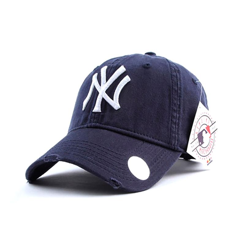 Предзаказ! Товар будет в наличии 29.03.2021. Кепка - бейсболка New York (Нью-Йорк) синего цвета.