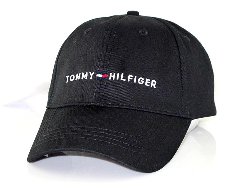 Кепка - бейсболка Tommy Hilfiger (Томми Хилфигер) черного цвета.